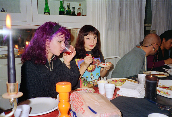 Lainie Siegel's Pot Luck Party, Los Angeles, CA, 1994 - 1 of 8