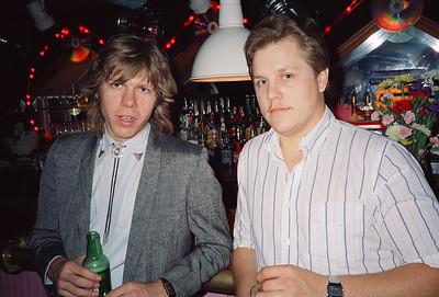 Shary Flenniken & Bruce Pasko Wedding Party, NYC, 1987 - 5 of 13