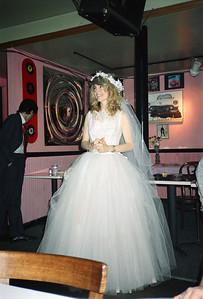 Shary Flenniken & Bruce Pasko Wedding Party, NYC, 1987 - 4 of 13