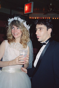 Shary Flenniken & Bruce Pasko Wedding Party, NYC, 1987 - 10 of 13