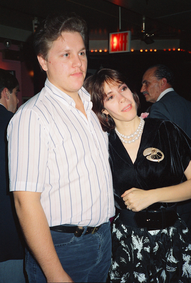 Shary Flenniken & Bruce Pasko Wedding Party, NYC, 1987 - 6 of 13