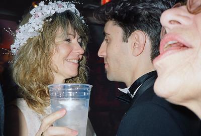 Shary Flenniken & Bruce Pasko Wedding Party, NYC, 1987 - 9 of 13