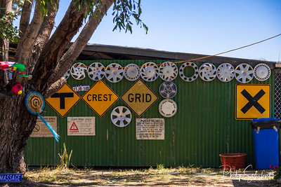 NAMBUNG, WESTERN AUSTRALIA, AUSTRALIA - OCT 25 2019: Nambung Station provided a unique venue for the annual Country Music and arts Festival each year. Country music fans camp for 4 days at the venue.
