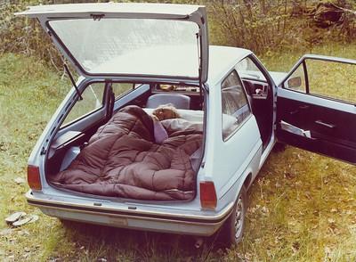 Sleeping Quarters near the Forbidden Zone. - 1977