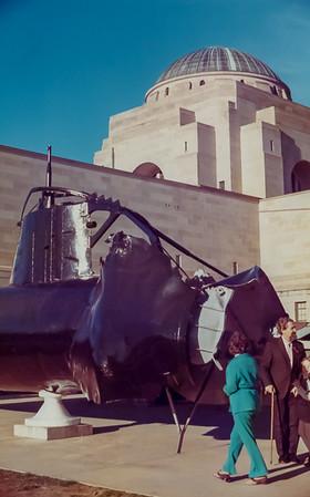 The Australian War Memorial - August 1973