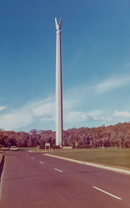 Monuments around Lake Burley Griffen, Canberra - August 1973