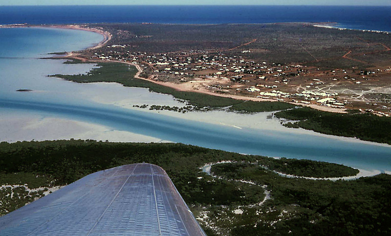 Broome from the Air in 1965
