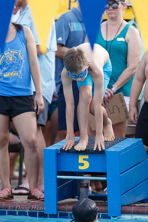 Conrad on the starting block