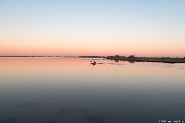 Sunset at Amager Strandpark 2018