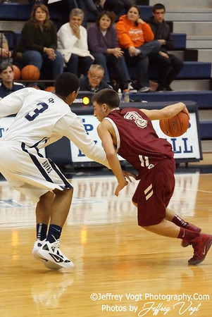 12/28/2011 Regis vs Georgetown Prep Basketball Photos by Jeffrey Vogt