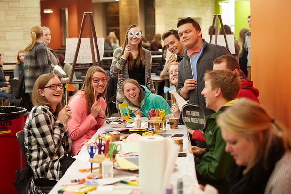 Activity; Relaxing; Socializing; Buildings; The Student Union U; Location; Inside; People; Student Students; Type of Photography; Candid; UWL UW-L UW-La Crosse University of Wisconsin-La Crosse; Winter Social at The U Student Union