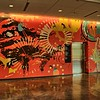 This mural was created by a Ringling graduate.