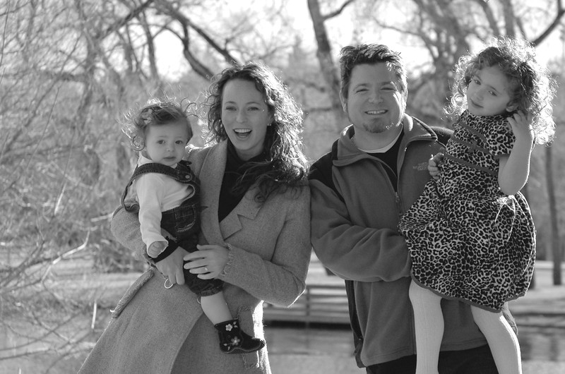 Stern Family Pics 2010 12 12 crop bw