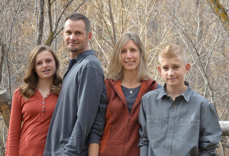 Thompson Family 2014 11 29
