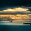 Sunrise over Coromandel from Eastern End