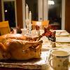 クリスマス。ターキが出来上がった。