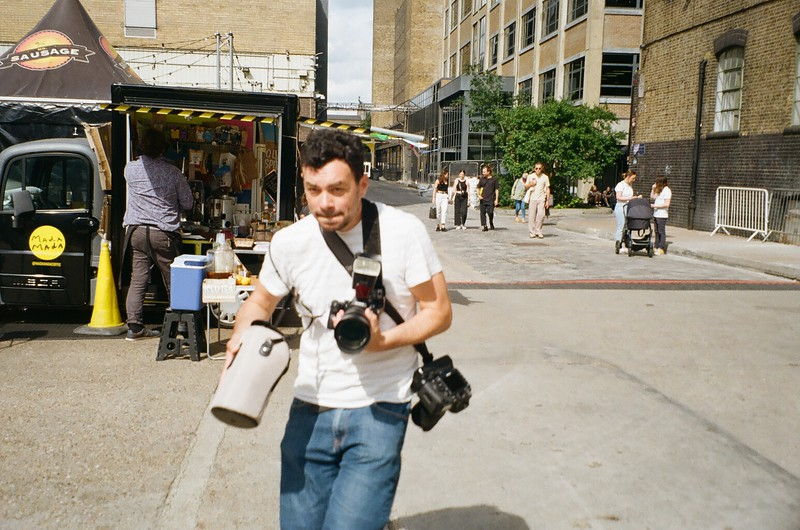 Olympus Mju Zoom with Kodak Gold