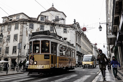 The Lisbon tramway network, in operation since 1873, presently comprises six urban lines. In 1901  the network was electrified. The decline of the network began with the construction of the Lisbon Metro but the six remaining lines are still very important as sections of the city's topography can only be crossed by small trams.