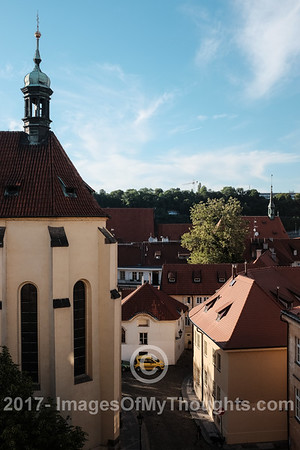 Rooftops in Stare Mesto, Old Town Prague.