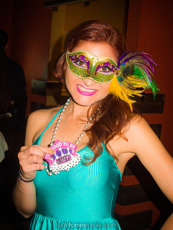 Angie's Mardi Gras Birthday at Nola's 3.15.2014