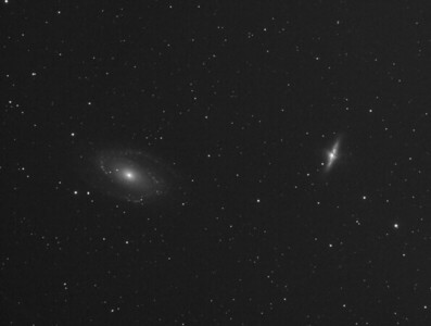 M81 & M82 - 2 hours