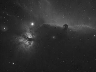 The Horsehead Nebula - 30 minutes