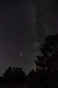 07-25-2020Jupiter & Saturn with the Milky Way - Bonus:Meteor