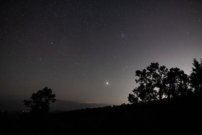 07-25-2020 Venus rising over the Vegas Light Pollution