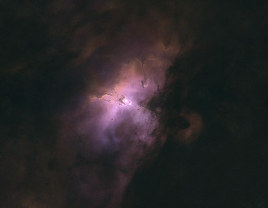 M16 - The Eagle Nebula with StarNet Processing