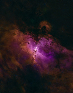M16 - The Eagle Nebule processed with StarNet