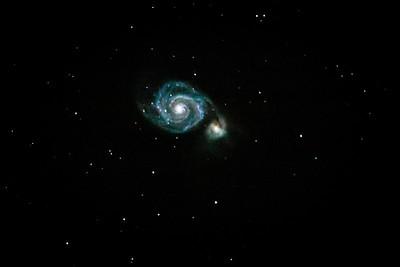 M-051 - The Whirlpool Galaxy