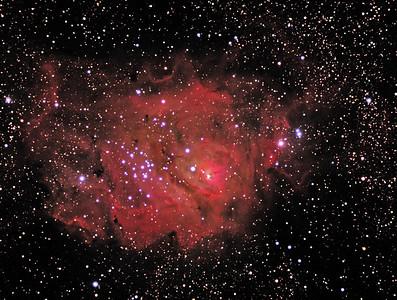 M-008 Lagoon Nebula
