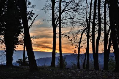 Szigliget Sunset — Szigligeti naplemente