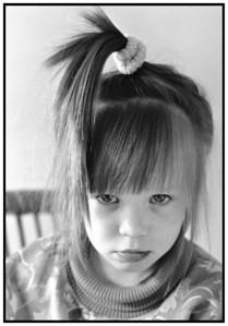 Ayoe opsat hår og bamse 1991