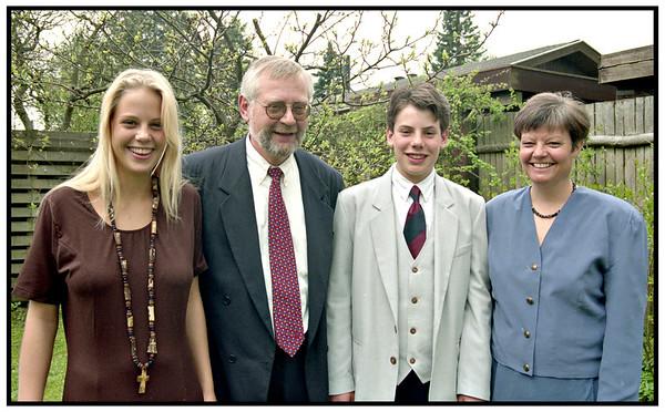 Bryndis Kollega holder konfirmation 1992