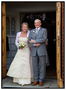 Annie og Dirk Bryllup 2005