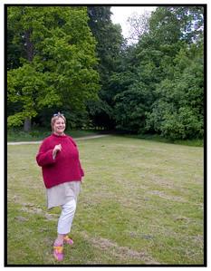 Torben og Bryndis i skoven ved Farum Sø 2005