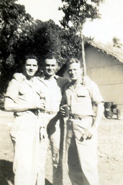 3 guys drinking