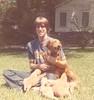 Robert w Boy's puppies
