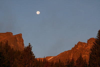 Sunrise at Rocky Mountain National Park