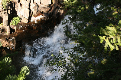 Along O-be-joyful trail in the Raggeds Wilderness near Crested Butte Colorado.  One of the many waterfalls.