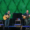 SARATOGA SPRINGS, NY - SEPTEMBER 21, 2013: Dave Matthews and Tim Reynolds performs during Farm Aid 2013 at the Saratoga Performing Arts Center on September 21, 2013 in Saratoga Springs, New York.