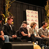 SARATOGA SPRINGS, NY - SEPTEMBER 21, 2013: Farm Aid Press Conference (Neil Young, John Mellencamp, Willie Nelson, Carolyn Mugar, Dave Matthews, Jack Johnson) at the Little Theatre in Saratoga Springs, NY on September 21, 2013
