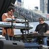 Jamey Johnson's keyboard player's at the Farm Aid 26th Anniversary Concert at Livestrong Sporting Park on August 13, 2011 in Kansas City, Kansas