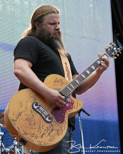 Jamey Johnson at the Farm Aid 26th Anniversary Concert at Livestrong Sporting Park on August 13, 2011 in Kansas City, Kansas