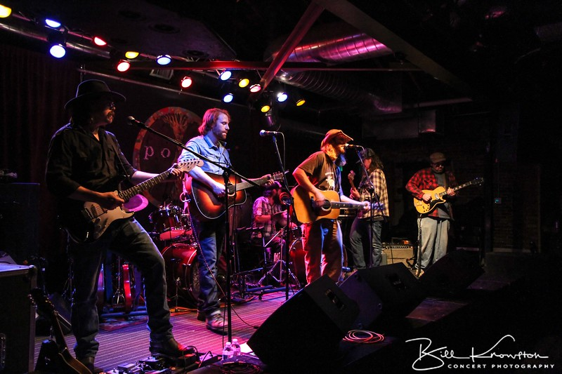 The Mallett Brothers Band perform at Empire Dine and Dance on May 24, 2012 in Portland, Maine