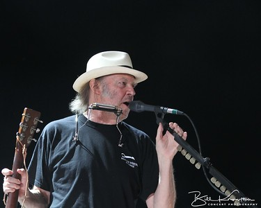 Neil Young at the Farm Aid 26th Anniversary Concert at Livestrong Sporting Park on August 13, 2011 in Kansas City, Kansas