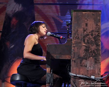 Norah Jones  performs at Miller Park in Milwaukee, WI on October 2, 2010