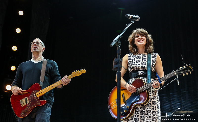 SARATOGA SPRINGS, NY - SEPTEMBER 21, 2013: Sasha Dobson performs during Farm Aid 2013 at the Saratoga Performing Arts Center on September 21, 2013 in Saratoga Springs, New York.