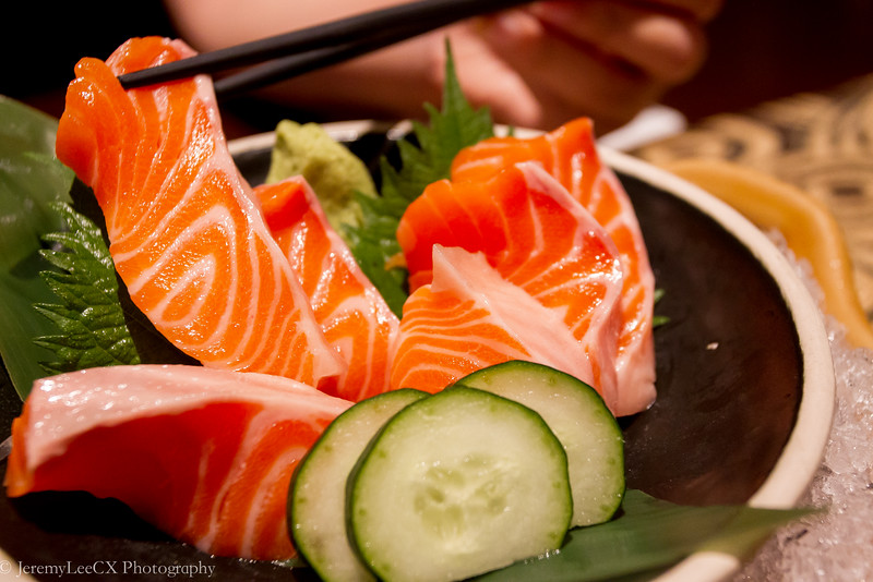 Holiday Inn Kuala Lumpur - Fu-Rin - Salmon Sashimi